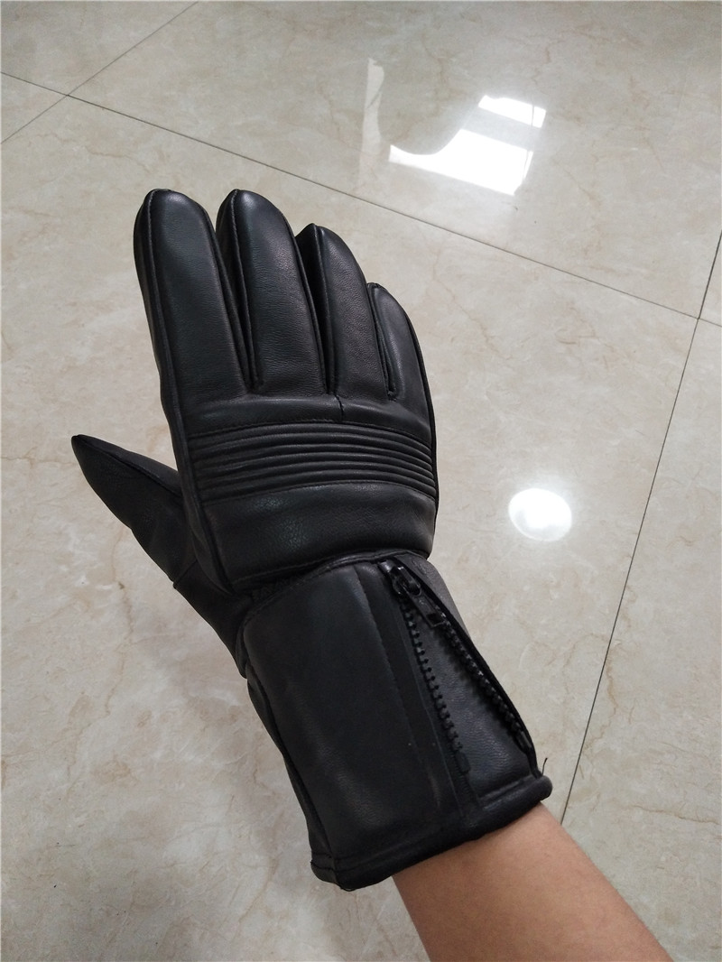 adult winter suede gloves