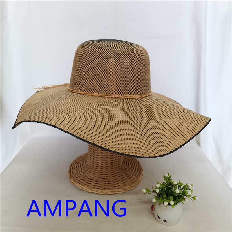 paper woven hat